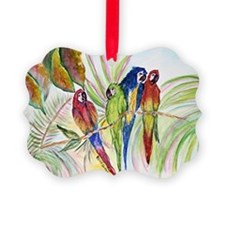 Parrots for duvet Ornament