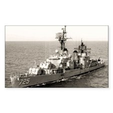uss obrien large framed print Decal