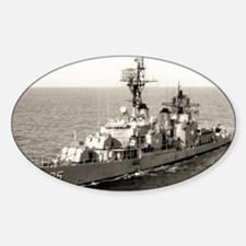 uss obrien framed panel print Decal