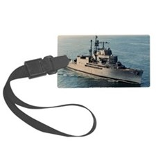 uss norton sound large framed pr Luggage Tag