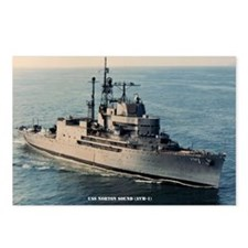 uss norton sound large fr Postcards (Package of 8)
