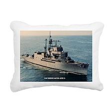 uss norton sound large f Rectangular Canvas Pillow