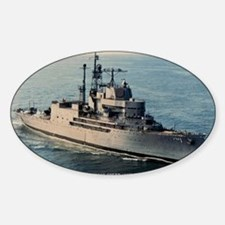 uss norton sound large framed print Decal
