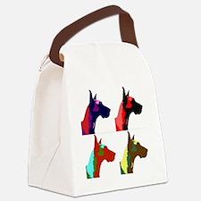 Great Dane a la Warhol Canvas Lunch Bag