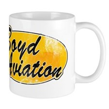 Vintage Boyd Aviation Mug