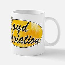 Vintage Boyd Aviation Mug