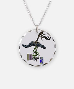 The Root of Money Is Work Necklace