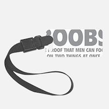 boobsFocus1C Luggage Tag