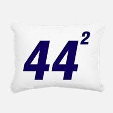 Obama 44 Squared Rectangular Canvas Pillow
