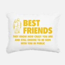 bestfr1E Rectangular Canvas Pillow