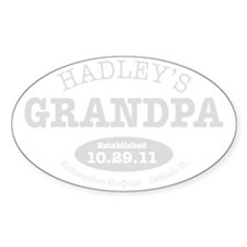Hadleys Grandpa Decal