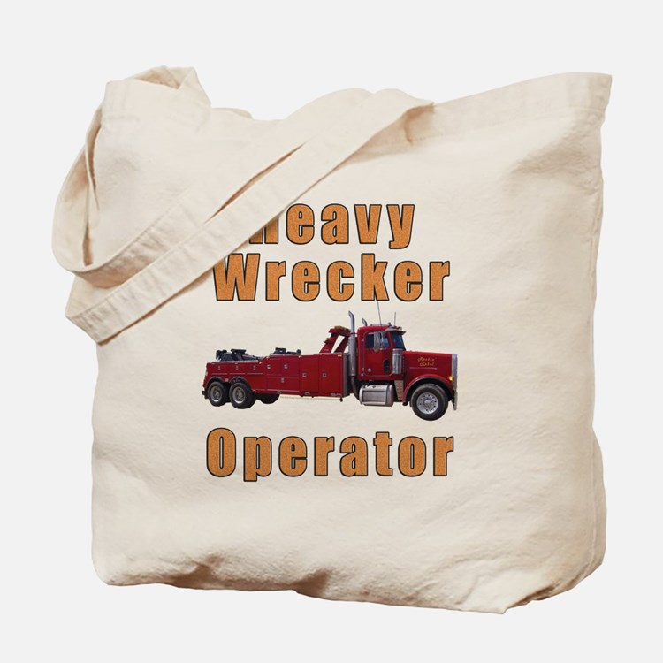 Heavy Tow Truck Tote Bag