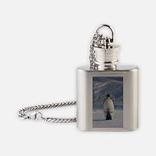 Penguin Love Flask Necklace