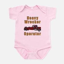 Heavy Tow Truck Infant Bodysuit