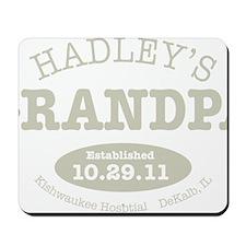 Hadleys Grandpa Mousepad
