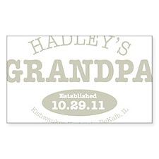 Hadleys Grandpa Decal