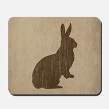 Vintage Rabbit Mousepad