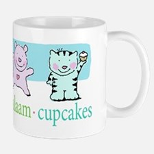 peace shalom salaam cupcakes Mug