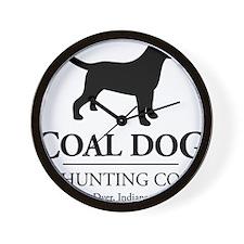 Coal Dog Hunting Co. Wall Clock