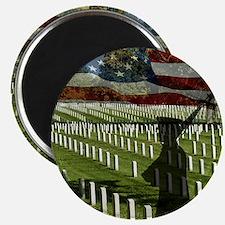 Guard at Arlington National Cemetery Magnet