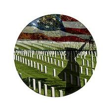 "Guard at Arlington National Cemetery 3.5"" Button"