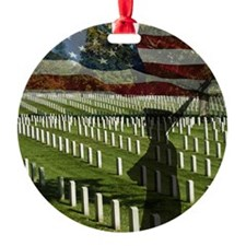 Guard at Arlington National Cemeter Ornament
