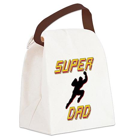 Super Dad Canvas Lunch Bag