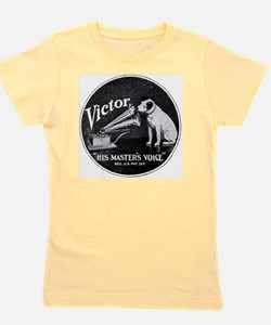 His Masters voice Girl's Tee