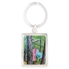 Sheets in the Wind Portrait Keychain