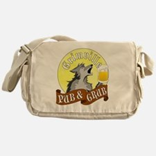 Grimville Pub Grub Messenger Bag