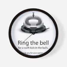 ring bell Wall Clock