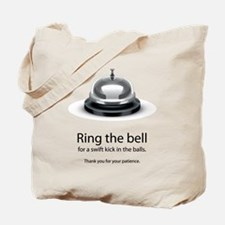 ring bell Tote Bag
