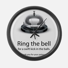 ring bell Large Wall Clock