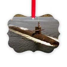 uss pennsylvania framed panel pri Ornament
