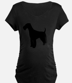Airedale Black Silhouette T-Shirt