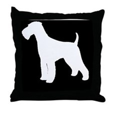 airedalehitch Throw Pillow
