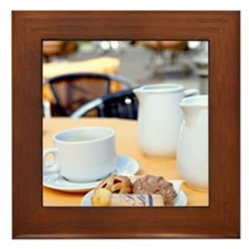Breakfast is Served Framed Tile