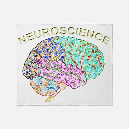 Neuroscience Throw Blanket