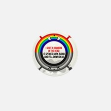 I shot a rainbow Mini Button