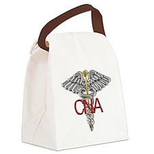 CNA Medical Symbol Canvas Lunch Bag