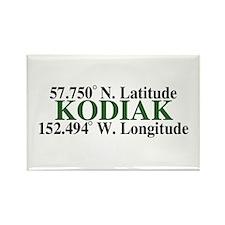 Kodiak Latitude Rectangle Magnet (100 pack)