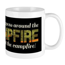 What Happens around the campfire Mugs
