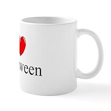 """I Love (Heart) Halloween"" Mug"