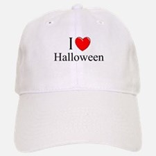 """I Love (Heart) Halloween"" Baseball Baseball Cap"