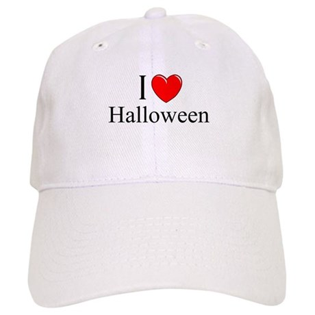 """I Love (Heart) Halloween"" Cap"