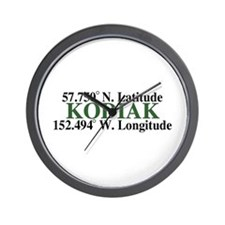 Kodiak Municipal Wall Clock