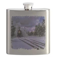 Snow Train Flask