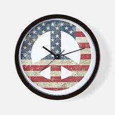 VintagePeace Wall Clock