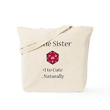 DnD Little Sister Tote Bag