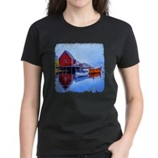 Boathouse and Rowboats Tee